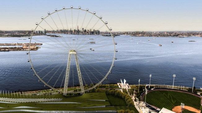 City Council Approves Staten Island Ferris Wheel Plan
