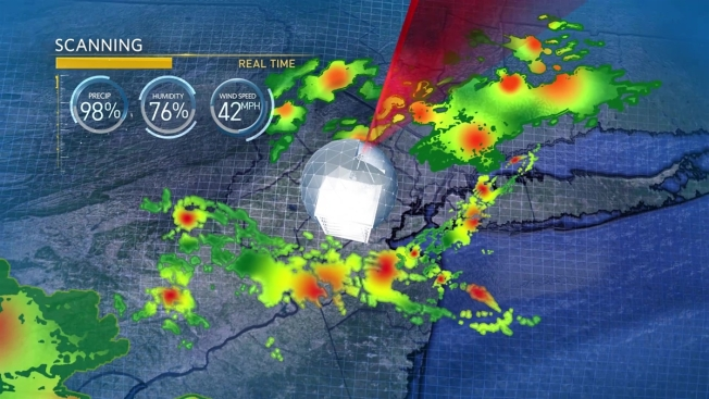 Using the New Live Radar on NBCNewYork.com and the WNBC App