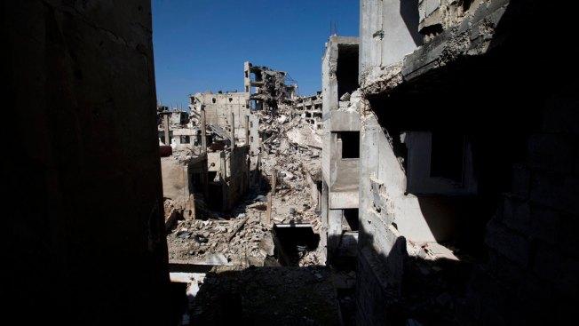 Report: Car Bomb Kills 2 Near Central Syrian Town