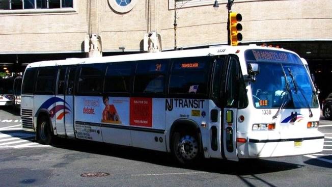 Nj Transit Warns Of Two Year Bus Nightmare As Route 495 Lane Closures Begin