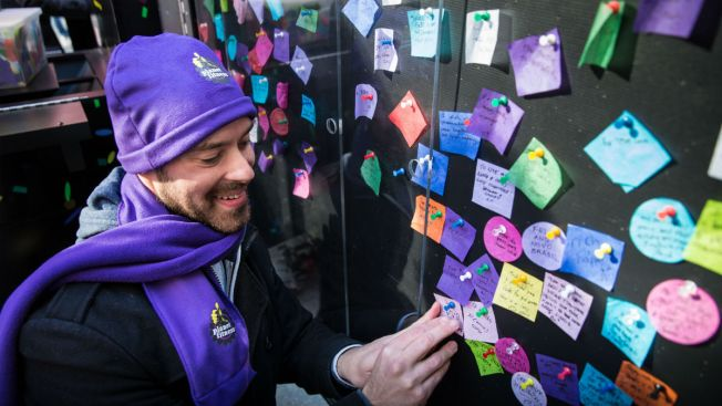 Share Your Wish for 2017 on Confetti 'Wishing Wall' in