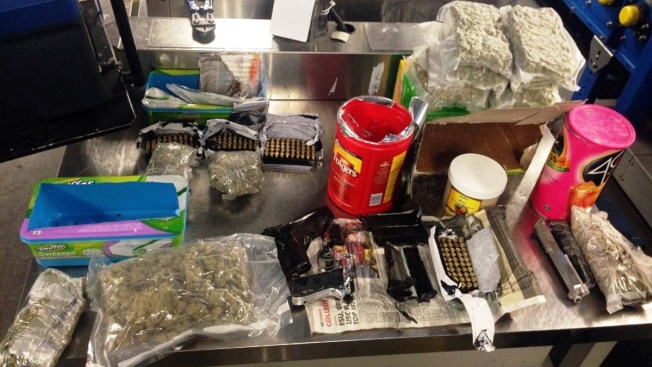 Drugs, Guns Found Disguised as Household Items in Checked Bags at JFK: TSA