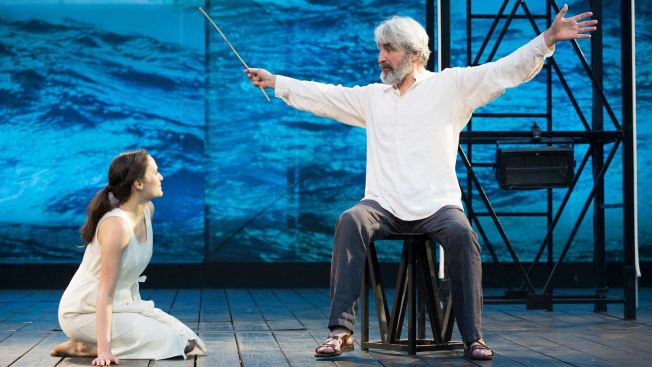 "Sam Waterston Leads a Stylized ""Tempest"" at the Delacorte"