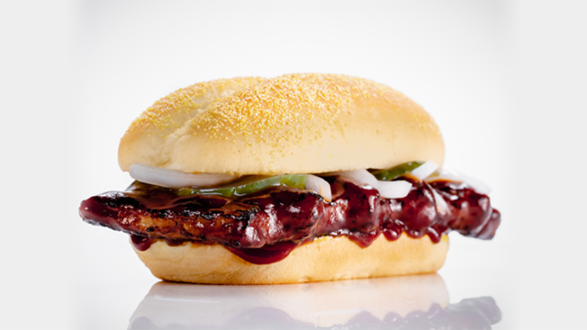 McDonald's Brings Back the McRib -- for a Limited Time