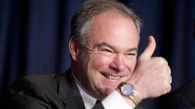 Kaine Returns to Longtime Parish to Attend Sunday Mass