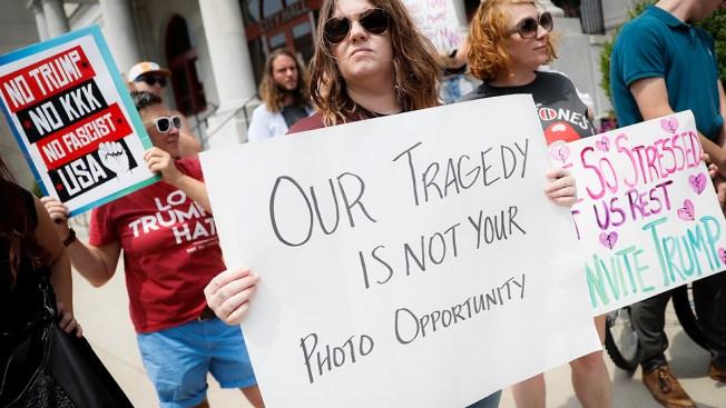 Gun Reform Urged in Ohio as Texas Democrats Shun Trump Visit
