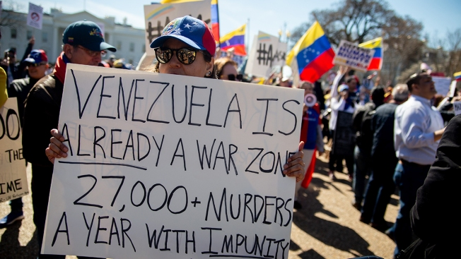 Trump Administration Won't Be Granting Venezuelans Temporary Protection for Now