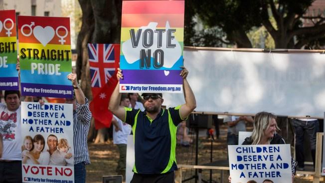 Australia Senator Urges Protection for Opposing Gay Marriage