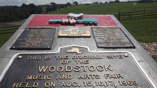 Groovy: Woodstock site gets national historic recognition