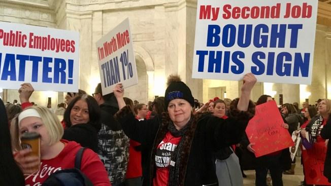 West Virginia Teachers: No Raise? No School; Strike Goes on