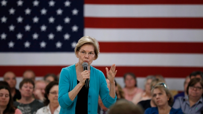Elizabeth Warren Says She'd End Justice Department Policy Barring Indictment of a Sitting President