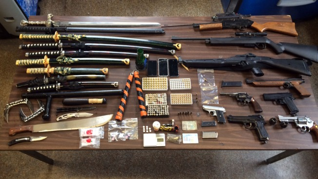 Officers Find Swords, Guns During Brooklyn Apartment Search: NYPD