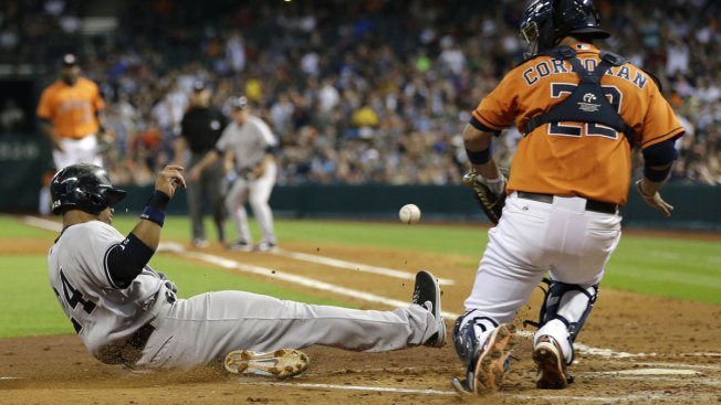 Yankees Hold on to Beat Astros 3-2; Rivera Sits Out