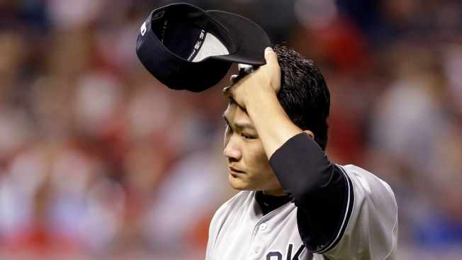 Yankees' Tanaka on Disabled List With Elbow Inflammation