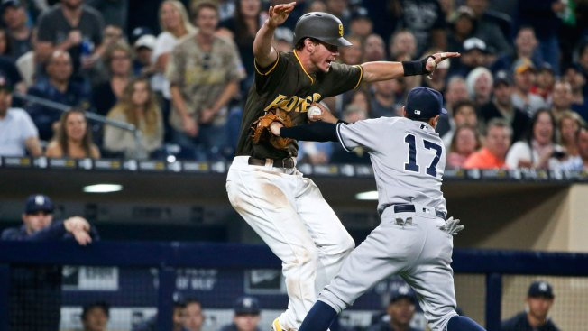 Myers Stays Hot With 2-Run Homer as Padres Beat Yankees 7-6