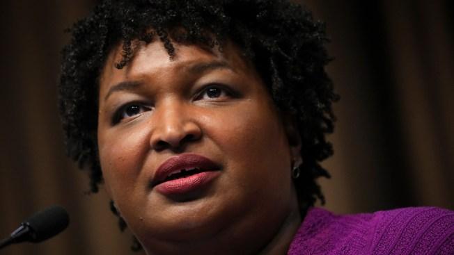 Georgia Democrat Stacey Abrams Won't Run for Senate in 2020