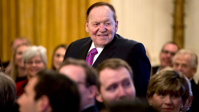 Casino Mogul, GOP Donor Adelson Getting Treatment for Cancer