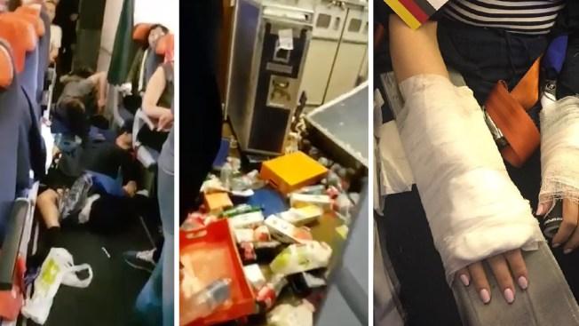 25 Hurt When Jet Hits Clear Air Turbulence Near Bangkok