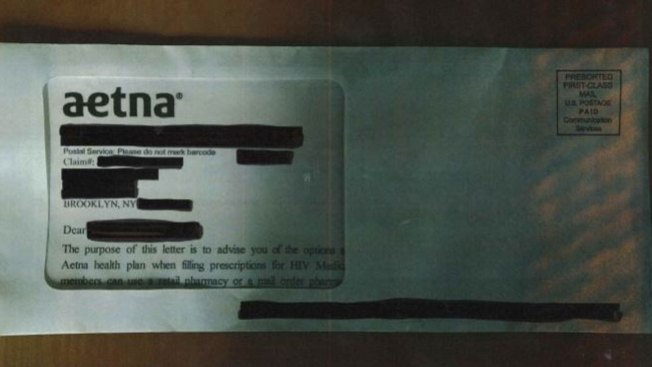 Aetna Envelope Window Reveals Patients' HIV Status: Lawyers