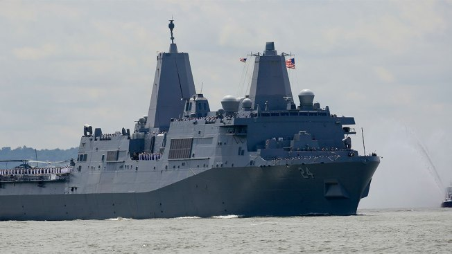 Hidden Camera Found in Women's Bathroom Aboard Navy Ship