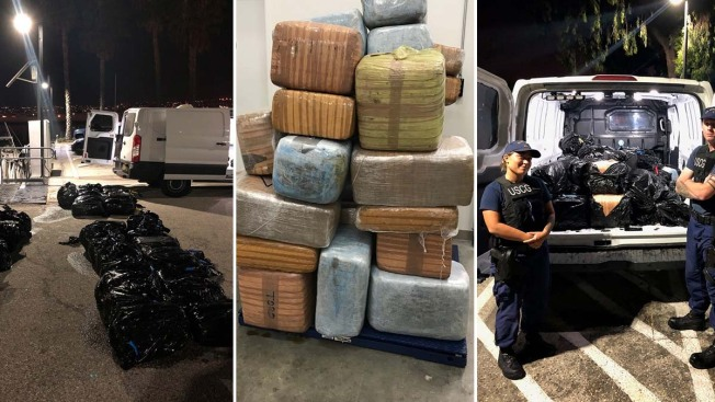Coast Guard Finds 43 Bales of Pot Floating Off California