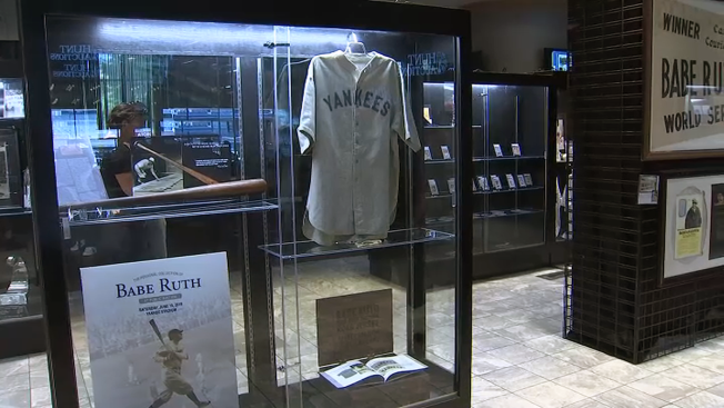 758d0fccc62 Babe Ruth Road Jersey Sells for $5.6M, Breaks Record - NBC New York