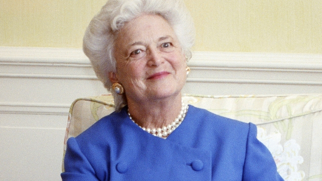 Barbara Bush Blamed Trump 'Angst' for Her Heart Attack, Biography Says
