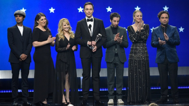 Hugs, Tears Mark Taping of Final 'Big Bang Theory' Episode