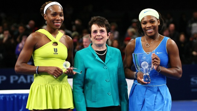 Venus, Serena Williams Join Billie Jean King Equal Pay Push