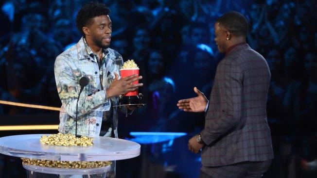 Chadwick Boseman Dedicates MTV Awards Win to Waffle House Hero James Shaw Jr.