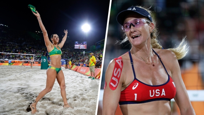 Beach Volleyball: Brazil Beats US in Walsh Jennings' 1st Olympic Loss Ever
