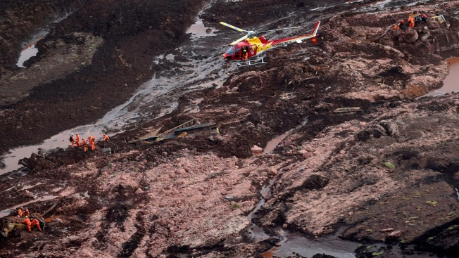 40 Dead, Many Feared Buried in Mud After Brazil Dam Collapse