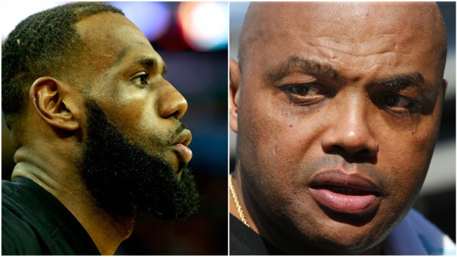 LeBron James Calls Charles Barkley 'Hater' While Firing Back at TV Commentator