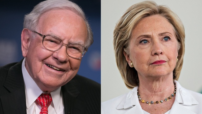 Clinton Wants to Expand Upon 'Buffet Rule' on Taxes