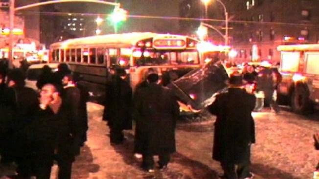 3 Hurt in Brooklyn School Bus-Ambulance Crash: FDNY