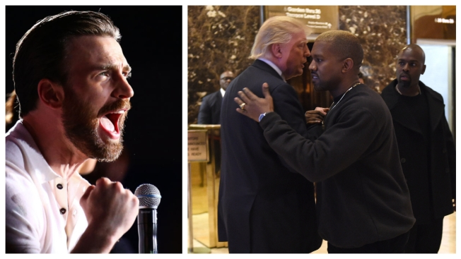 Chris Evans, Lana Del Rey and Others Criticize Kanye West's Politics