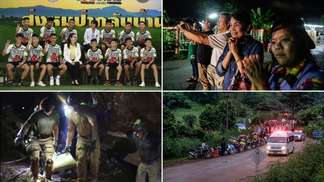 [NATL] Thai Cave Rescue: Soccer Team Healthy After Long Ordeal
