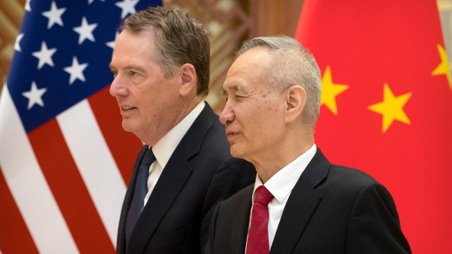 US, China Resume Trade Talks in Washington Ahead of Deadline