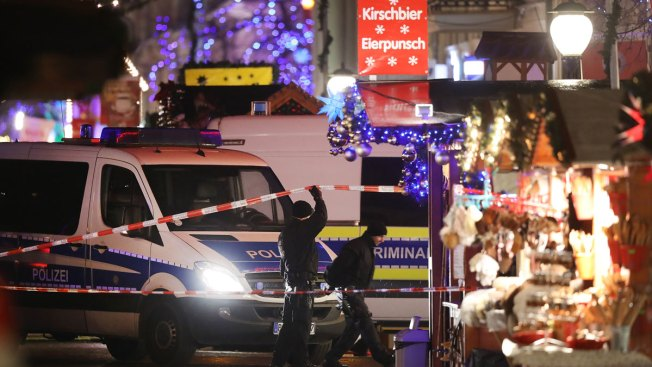 Police confirm explosives at Christmas market in Germany's Potsdam