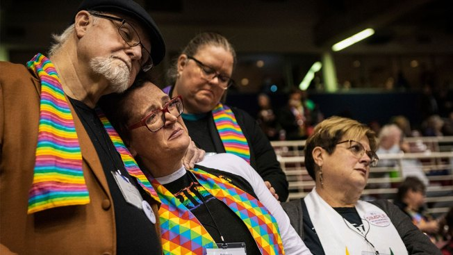 United Methodist Delegates Reject Recognizing Gay Marriage