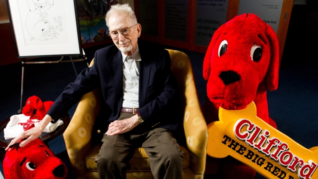 """""""Clifford the Big Red Dog"""" Author Norman Ray Bridwell Dead at 86"""