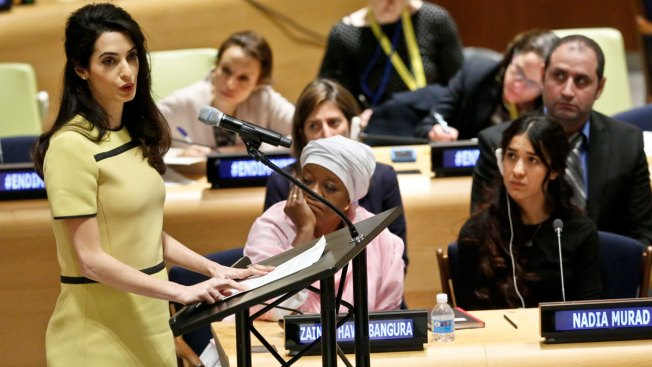 Amal Clooney: Don't Let ISIS Get Away With Genocide