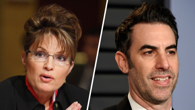 Sacha Baron Cohen, Showtime Push Back Against Sarah Palin