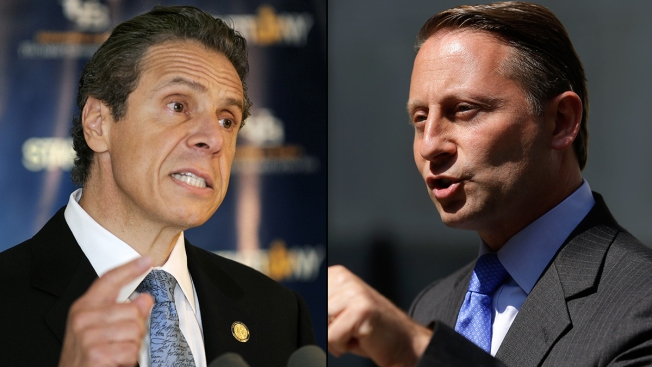 Cuomo Leads Governor's Race as Voters See Opponent as Conservative, Poll Shows