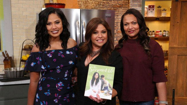 Ayesha Curry Joins Rachael Ray to Discuss Her First Cookbook