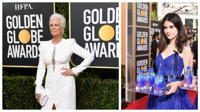 Jamie Lee Curtis Slams Fiji Water for Viral PR Stunt at 2019 Golden Globes