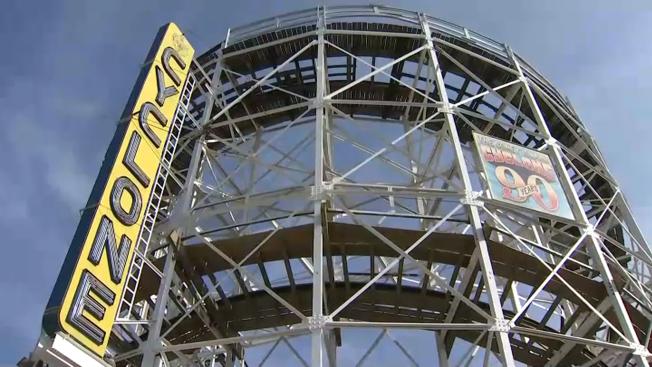 Coney Island's Amusement Park Opens for the Season