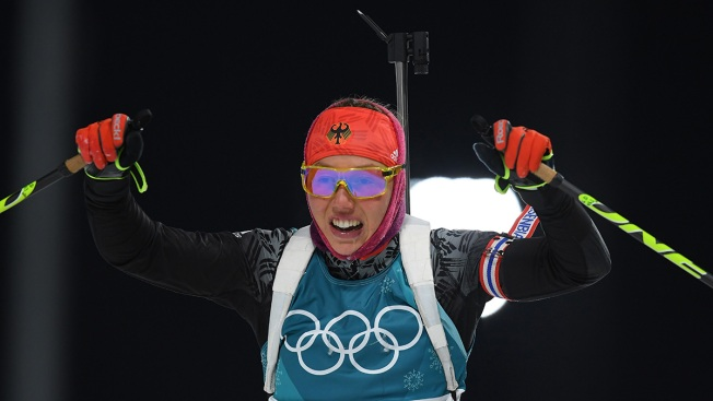 Germany Takes Gold, US Still Medal-less in Women's Biathlon