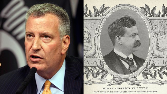 Bill De Blasio and 1897 NYC Mayor Are Cousins, Genealogy Company Finds