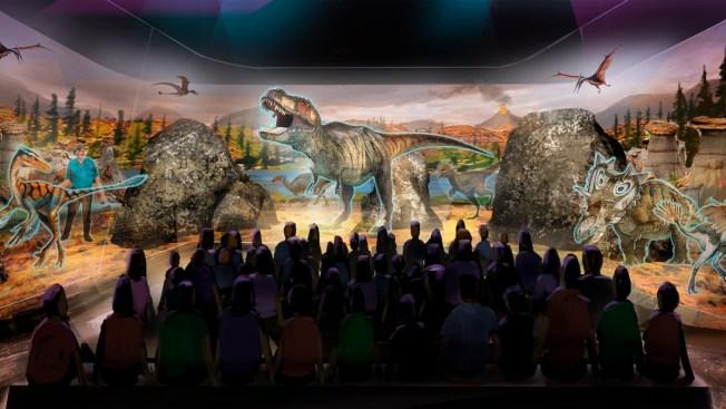 'Jurassic Park' Dinosaur Expert's Next Big Thing: Holograms